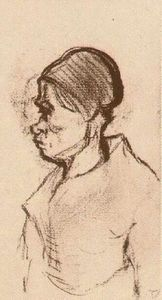 Vincent Van Gogh - Peasant Woman, Head (8)