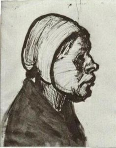 Vincent Van Gogh - Peasant Woman, Head (11)