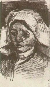 Vincent Van Gogh - Peasant Woman, Head (12)