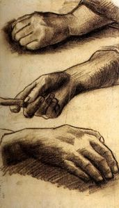 Vincent Van Gogh - Three Hands