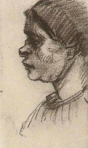 Vincent Van Gogh - Peasant Woman, Head (15)
