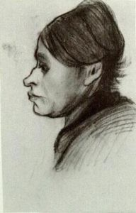 Vincent Van Gogh - Peasant Woman, Head (17)