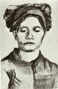 Vincent Van Gogh - Peasant Woman, Head (18)