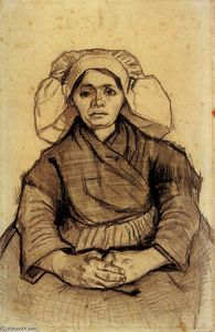 Vincent Van Gogh - Seated Woman