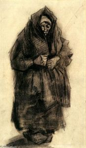 Vincent Van Gogh - Woman with a Mourning Shawl