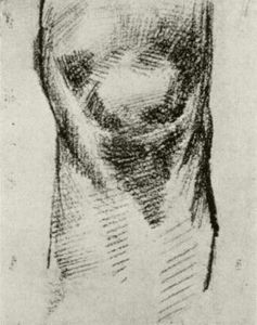 Vincent Van Gogh - Sketch of a Knee