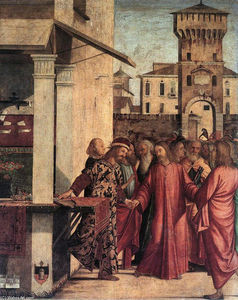 Vittore Carpaccio - The Calling of St. Matthew