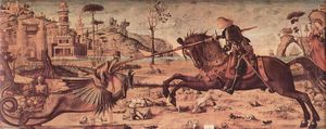 Vittore Carpaccio - St. George Killing the Dragon
