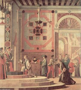 Vittore Carpaccio - The Departure of the English Ambassadors