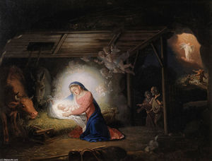 Vladimir Lukich Borovikovsky - The Nativity of Christ