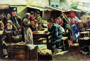 Vladimir Yegorovich Makovsky - The Meal