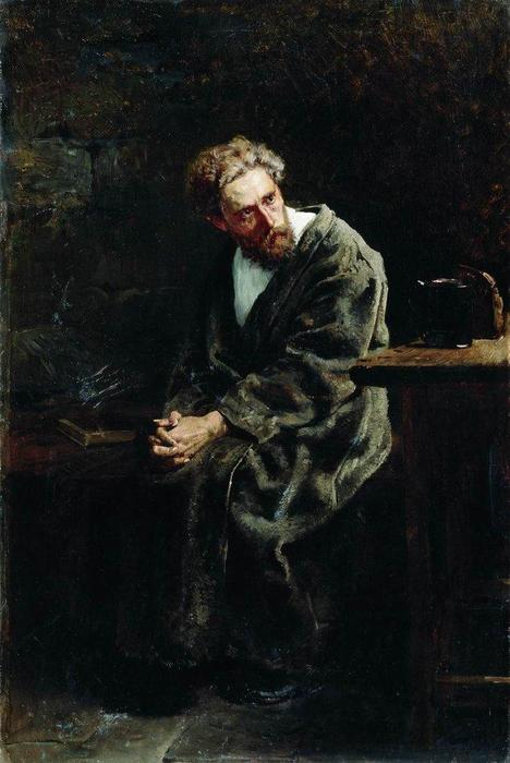 The Prisoner, 1882 by Vladimir Yegorovich Makovsky (1846-1920, Russia) | Art Reproduction | WahooArt.com