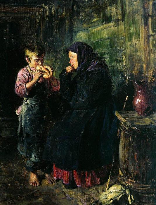 Date, 1883 by Vladimir Yegorovich Makovsky (1846-1920, Russia) | Museum Quality Reproductions | WahooArt.com