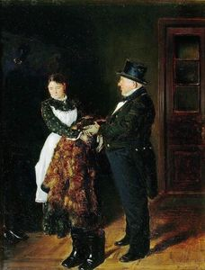 Vladimir Yegorovich Makovsky - In the hall