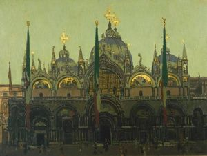 Walter Richard Sickert - St. Mark-s, Venice