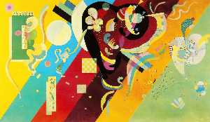Wassily Kandinsky - Composition IX - (paintings reproductions)