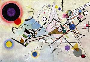 Wassily Kandinsky - Composition VIII - (Famous paintings)