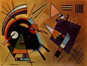 Wassily Kandinsky - Black and Violet