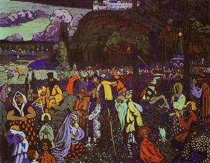 Wassily Kandinsky - Colorful life