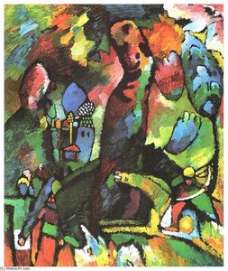 Wassily Kandinsky - Picture with archer