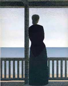 Will Barnet - Woman by the Sea