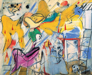 Willem De Kooning - Abstraction