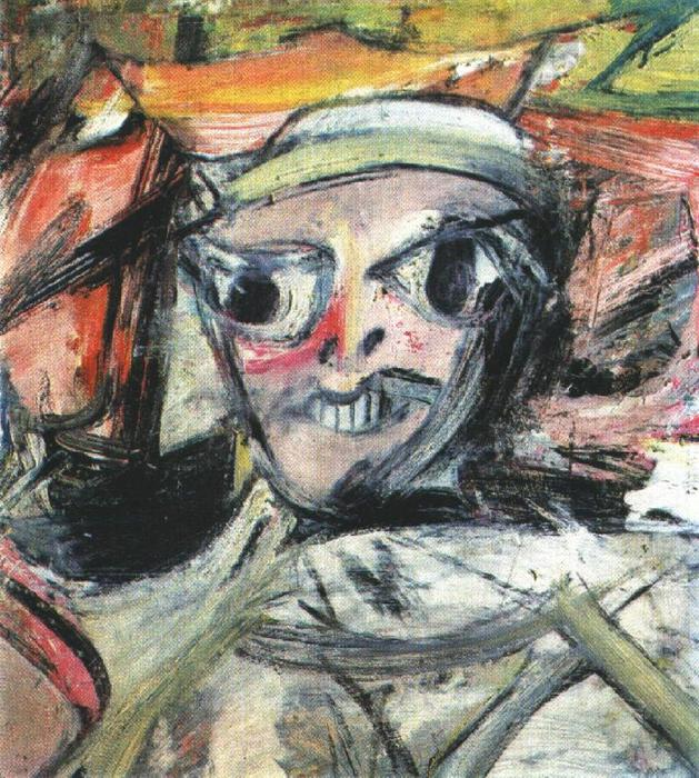 Easter Monday, 1956 by Willem De Kooning (1904-1997, Netherlands)