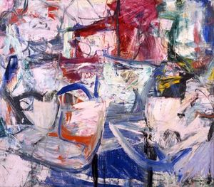 Willem De Kooning - Saturday Night