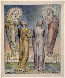William Blake - Andrew, Simon Peter Searching for Christ
