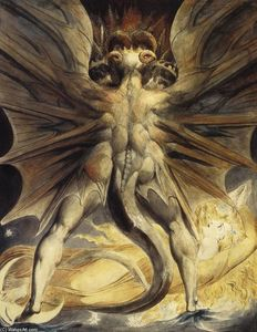 William Blake - The Red Dragon and the Woman Clothed with the Sun