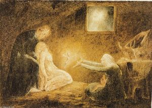 William Blake - The Nativity