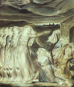 William Blake - The parable of the wise and foolish virgins
