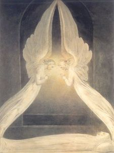 William Blake - Christ in the Sepulchre
