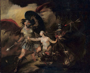 William Hogarth - Satan, Sin and Death