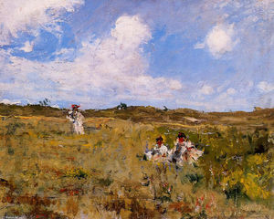 William Merritt Chase - Shinnecock Landscape 03