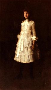 William Merritt Chase - Hattie