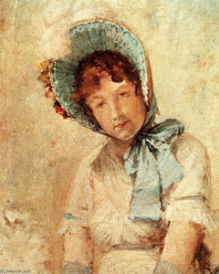 William Merritt Chase - Portrait of Harriet Hubbard Ayers