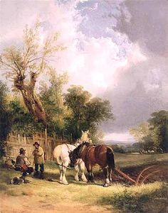 William Shayer Senior - The Ploughman-s Rest