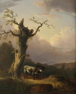 William Shayer Senior - Donkeys in Landscape