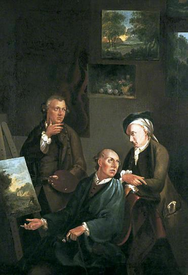 The Smith Brothers of Chichester by William Shayer Senior (1788-1879, United Kingdom) | Oil Painting | WahooArt.com