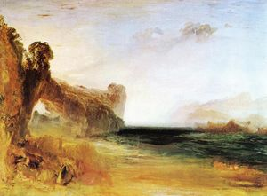William Turner - Rocky Bay with Figures