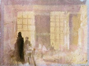 William Turner - Interior at Petworth