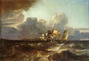 William Turner - Ships Bearing up for Anchorage (-The Egremont Sea Piece-)
