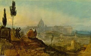 William Turner - St. Peter-s from the south