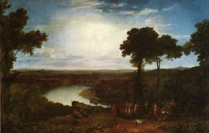 William Turner - The Festival of the Opening of the Vintage, Macon
