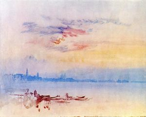 William Turner - Venice, Looking East from the Guidecca, Sunrise