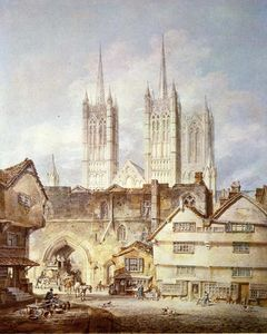 William Turner - Cathedral Church at Lincoln