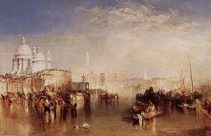 William Turner - Venice, seen from the Giudecca Canal