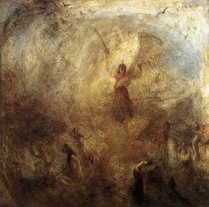 William Turner - The Angel Standing in the Sun