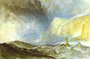 William Turner - Shipwreck off Hastings
